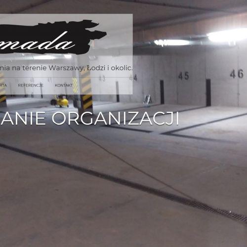 Podłogi żywiczne epoksydowe - Warszawa