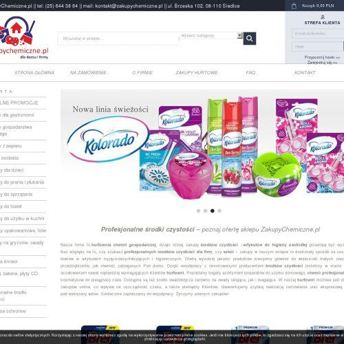 Artykuły do higieny osobistej hurtownia