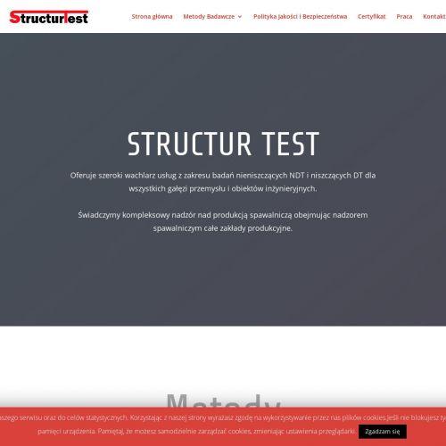Struktur test w Krakowie