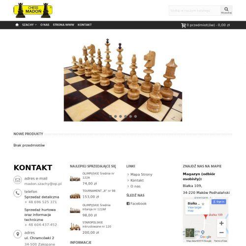Produkcja szach