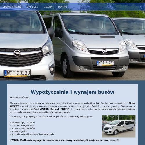 Busy dla firm - Warszawa