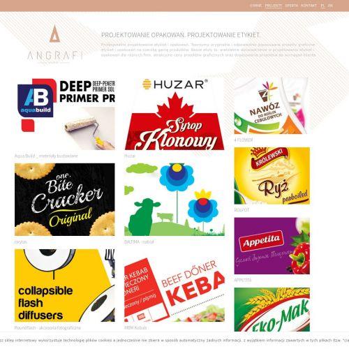 Poznań - projekt ulotki reklamowej