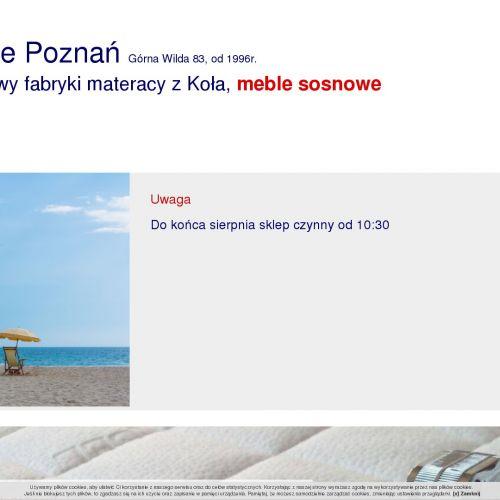 Sypialnie Poznań