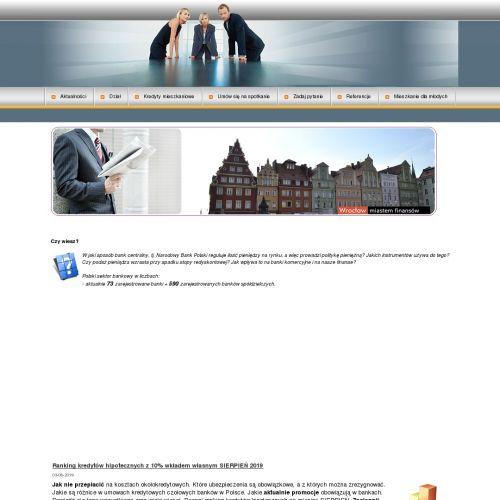 Kredyty dla firm - Wrocław