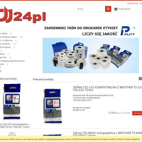 Etykiety dymo - Częstochowa