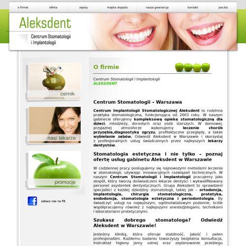 Warszawa - stomatolog warszawa opinie