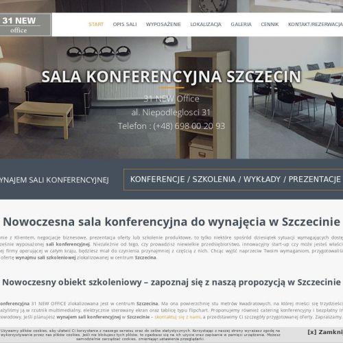 Szczecin - wynajem sali szkoleniowej