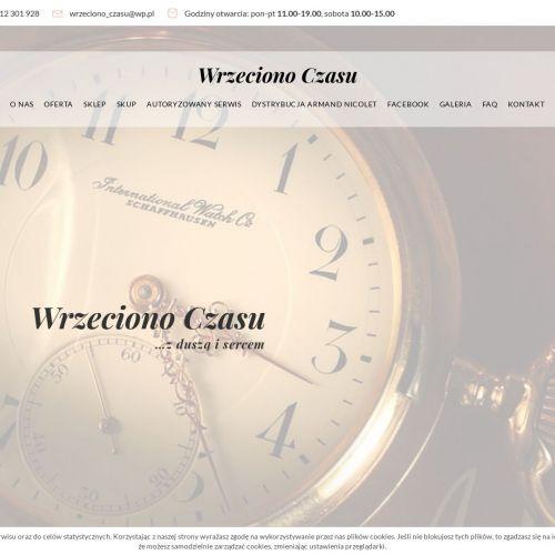 Wystawne zegarki online