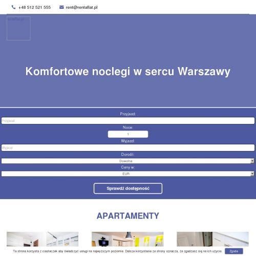 Warszawa - noclegi krótkoterminowe