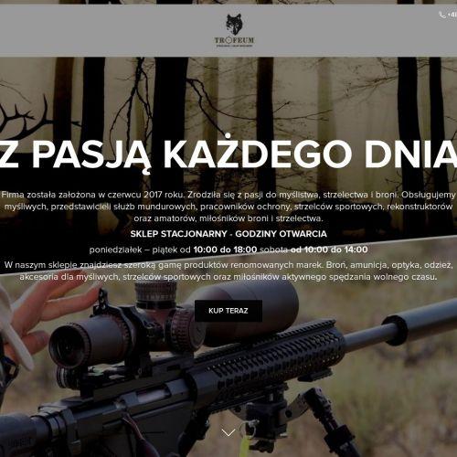Sklep z bronią myśliwską w Malborku