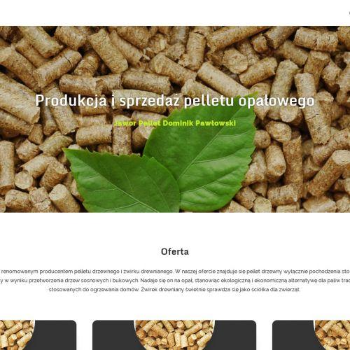 Sprzedaż pelletu drzewnego Luboń