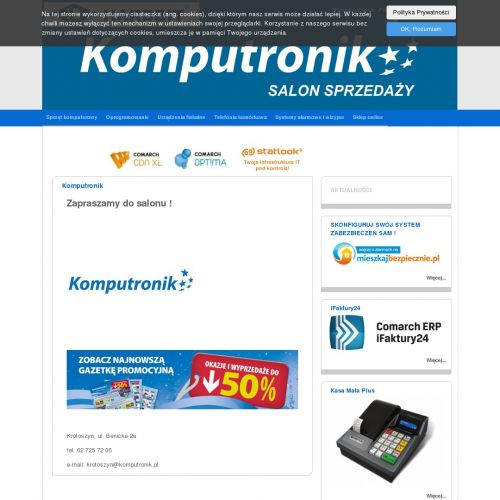 Krotoszyn - drukarki fiskalne ostrów
