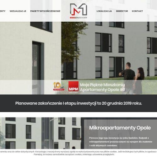 Mikroapartamenty inwestycyjne w Kępnie