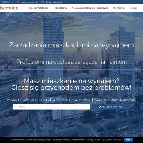 Opieka nad wynajmem w Warszawie