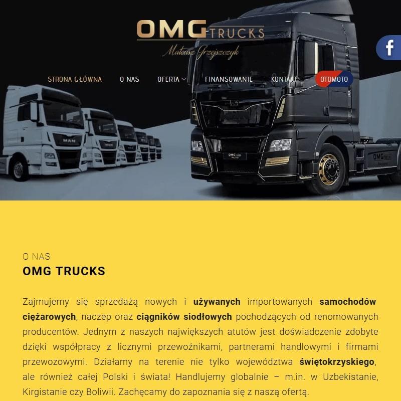 Samochody ciężarowe używane małopolskie