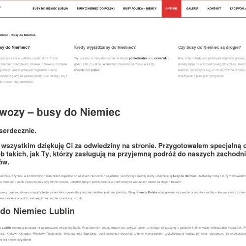 Busy polska niemcy w Opolu