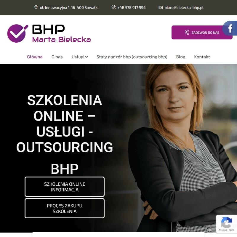 Inspektor bhp w Olecku