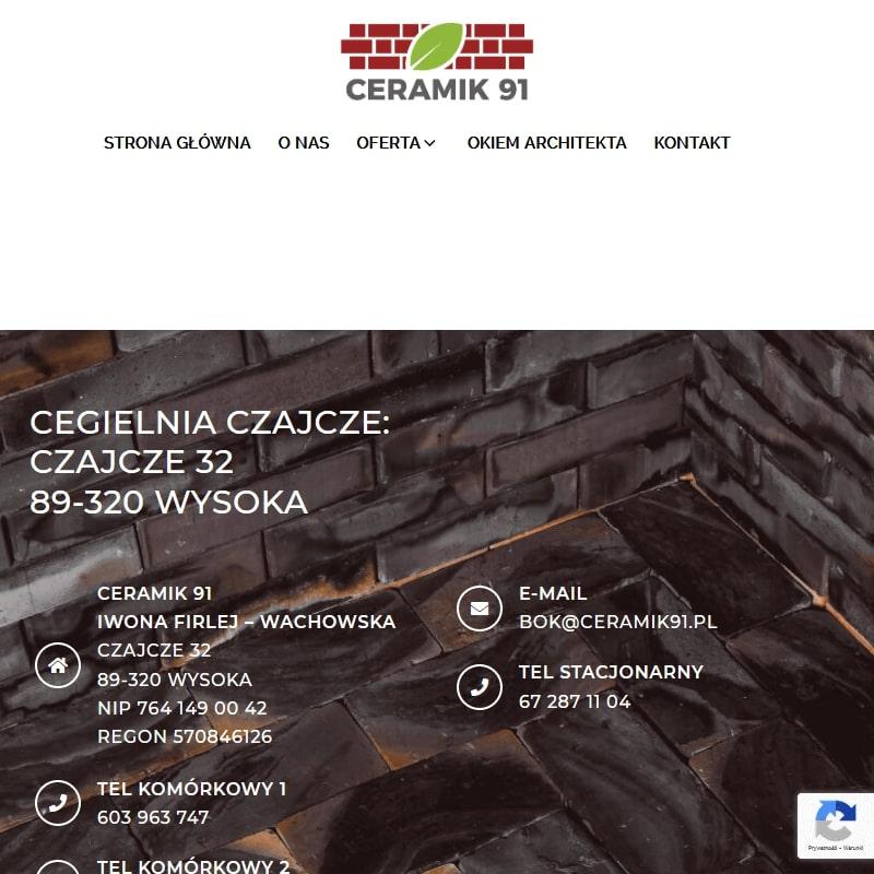 Cegła ozdobna - Bydgoszcz