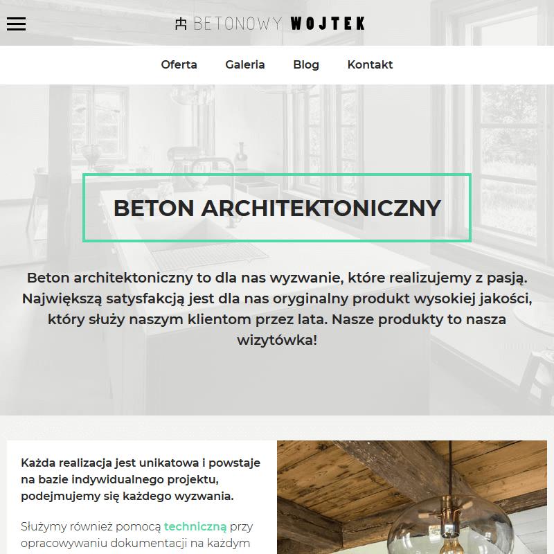 Płyty beton architektoniczny - Warszawa