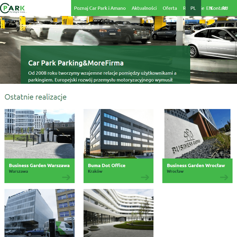 Gdańsk - bezobsługowe systemy parkingowe