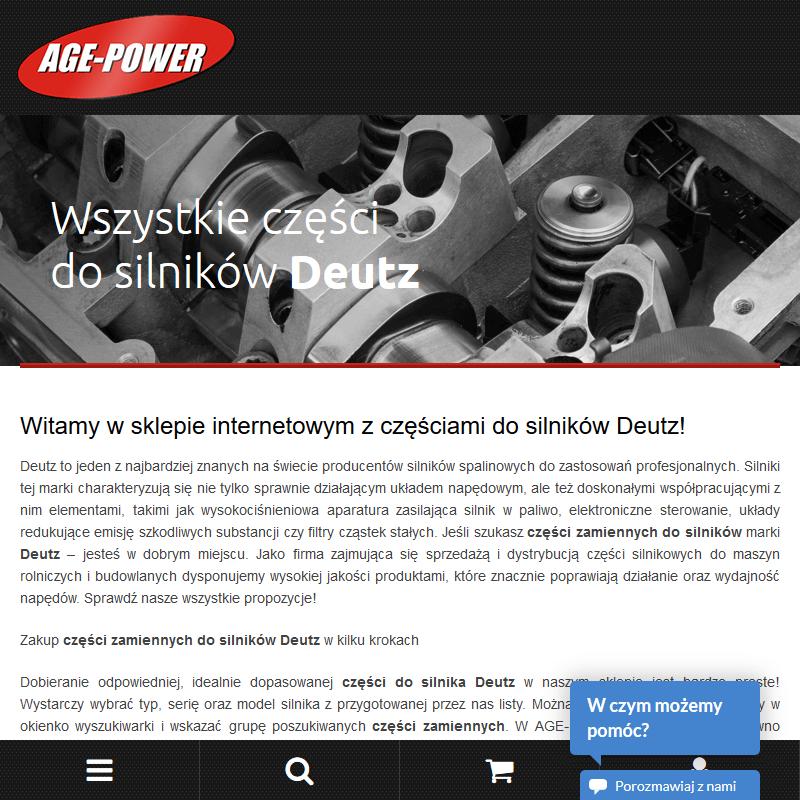 Części zamienne deutz - Warszawa