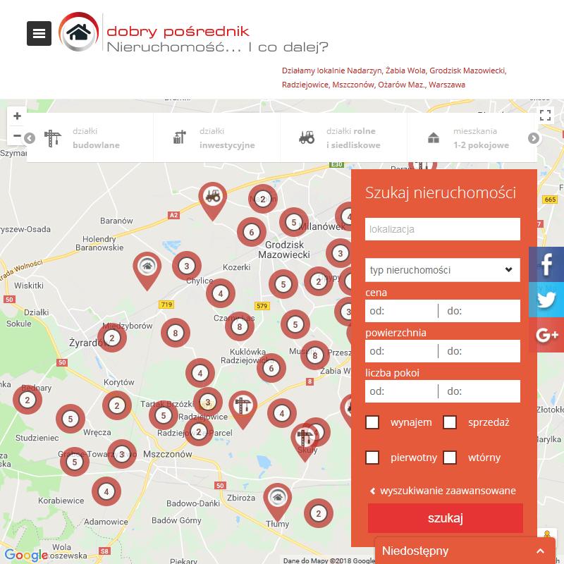Sprzedaż ziemi radziejowice - Warszawa