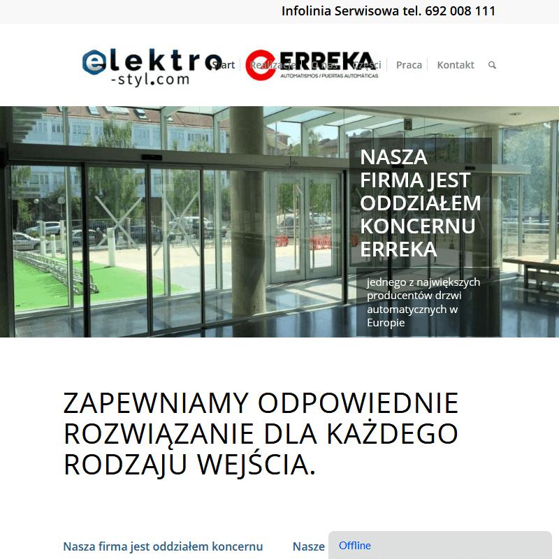 Automatyczne drzwi przesuwne serwis w Warszawie