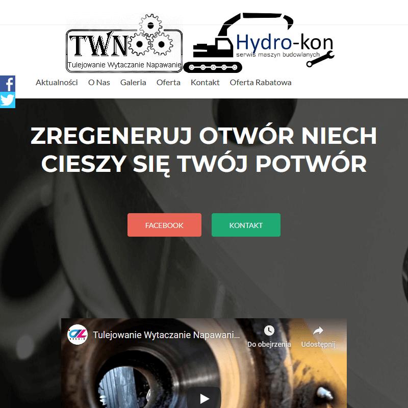Wytaczarko napawarka wynajem - Warszawa