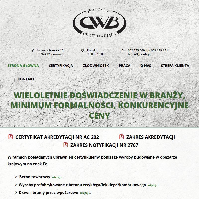Jednostka akredytowana certyfikacja w Warszawie