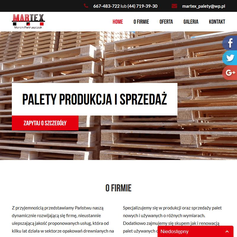Palety tanio w Warszawie