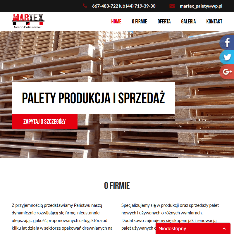 Warszawa - producent palet lubelskie