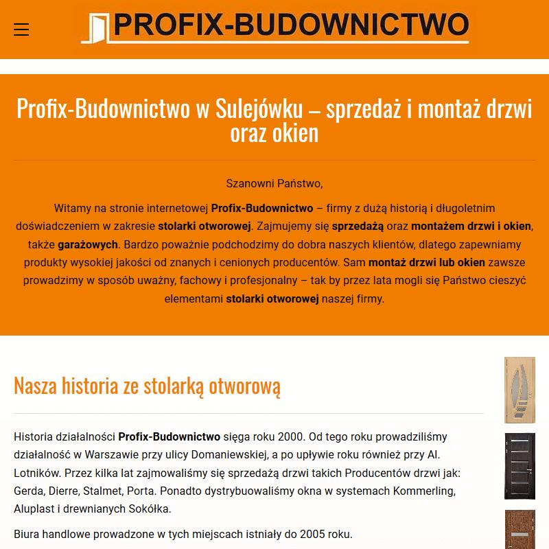 Drzwi wewnętrzne intenso Warszawa