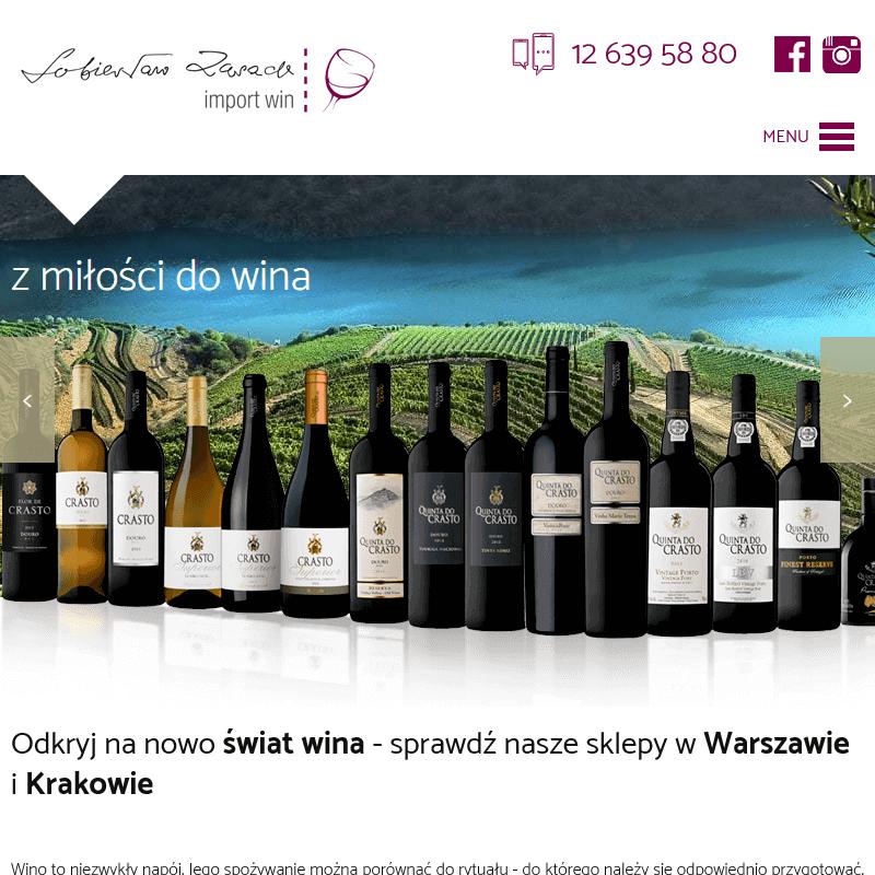 Wina portugalskie sklep w Krakowie